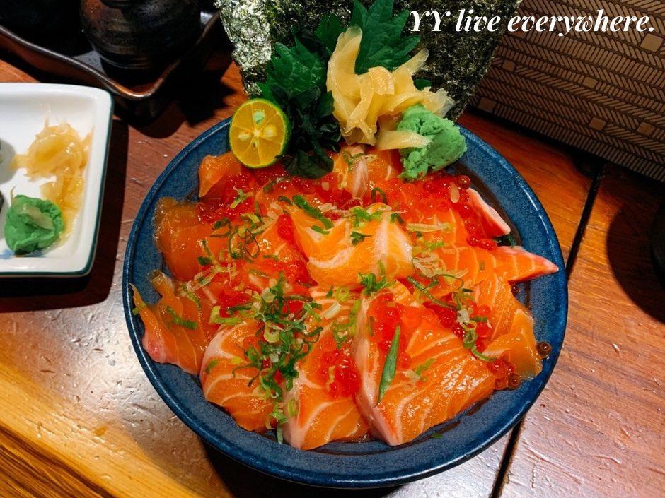 神奈川平價日式料理鮭魚親子丼