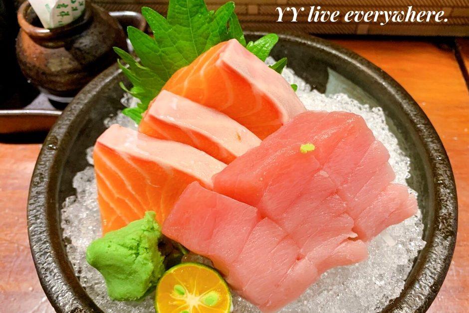 神奈川平價日式料理綜合生魚片