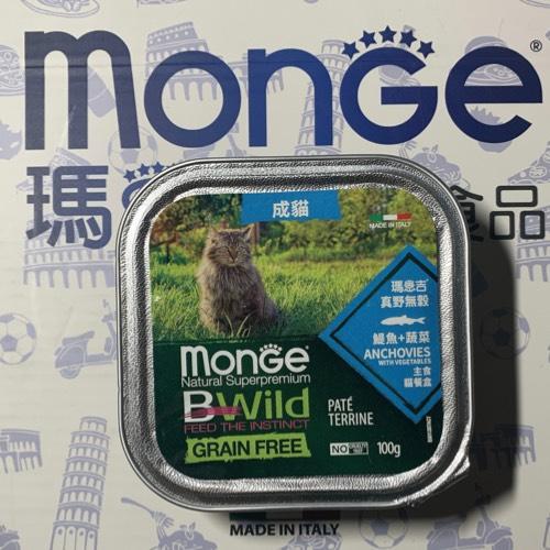 瑪恩吉Monge鯷魚+蔬菜主食餐盒