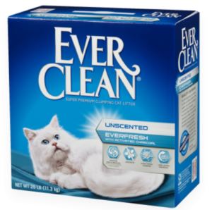 Ever Clean藍鑽貓砂雙重活性碳低過敏結塊砂